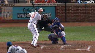 Бейсбол. MLB. Балтимор Ориолс - Нью Йорк Метс (18.08.2015)