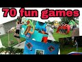 70 fun ,cheap and easy games for whole family