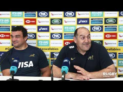 TRC: Argentina press conference, Gold Coast