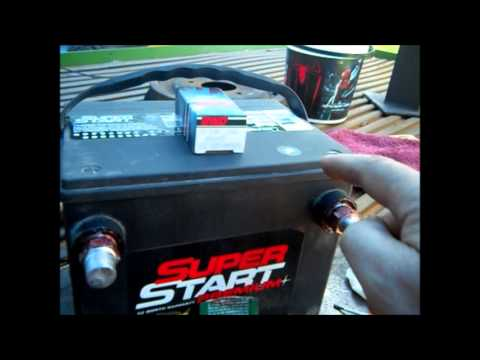 Battery Terminal Adapter >> How To Battery Side post to Top post Adapters - YouTube