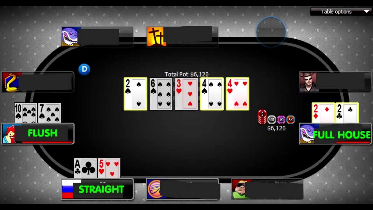 poker 888 rigged