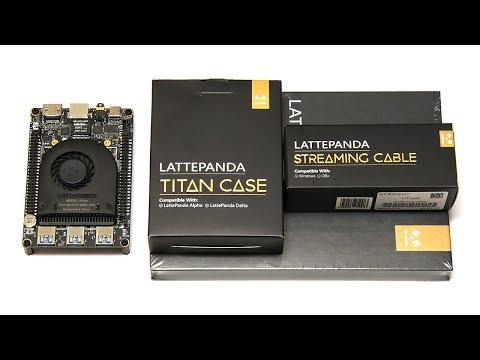 LattePanda Alpha: Screen, Case & Streaming Cable