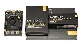 LattePanda Alpha: Screen, Case & Streaming Cable