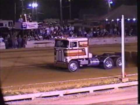 2002 FPP Super Semi truck pull: Greene Co. Fair