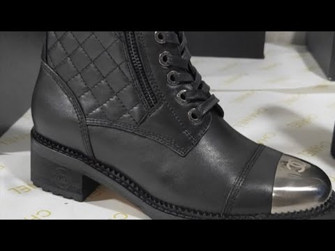 New Chanel boots Review - YouTube