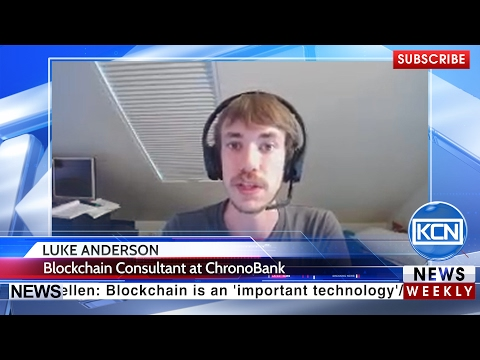 Interview with Luke Anderson, Blockchain Consultant at Chronobank