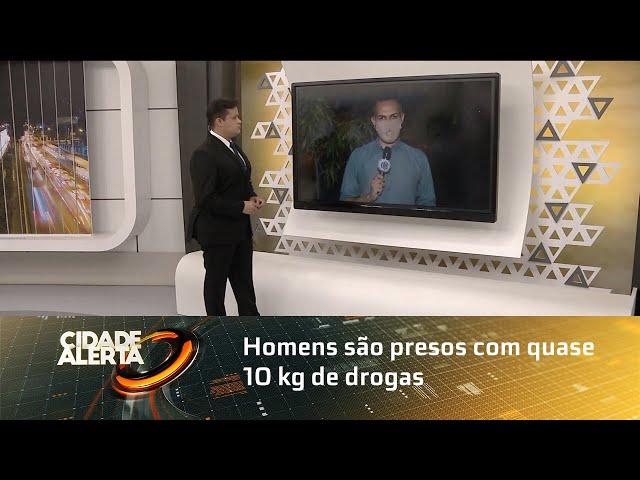 Homens são presos com quase 10 kg de drogas em Piaçabuçu