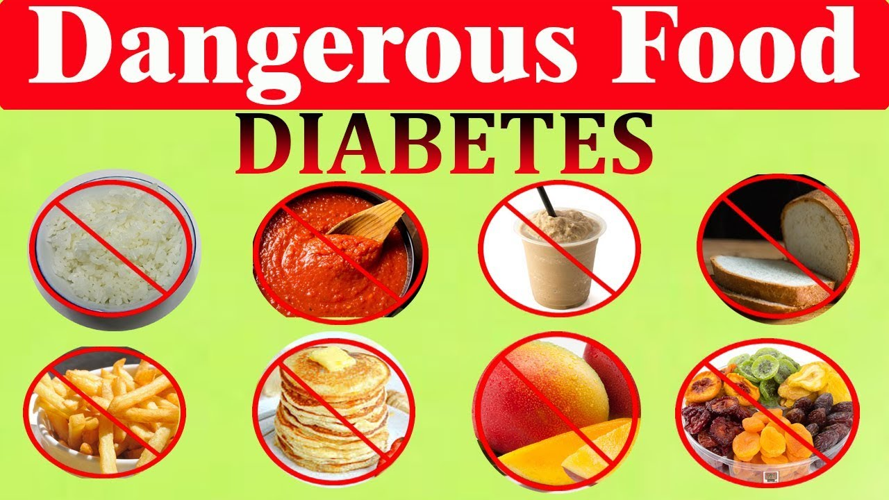 25 Most Dangerous Food For Diabetes No 1 Scary Youtube