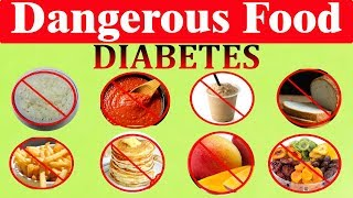 25 Most Dangerous Food for Diabetes (No.1 Scary)
