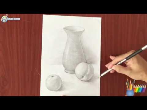 Vẽ lọ hoa và quả / Draw vases and fruits | Tóm tắt các kiến thức liên quan hình ảnh vẽ lọ hoa và quả đầy đủ nhất