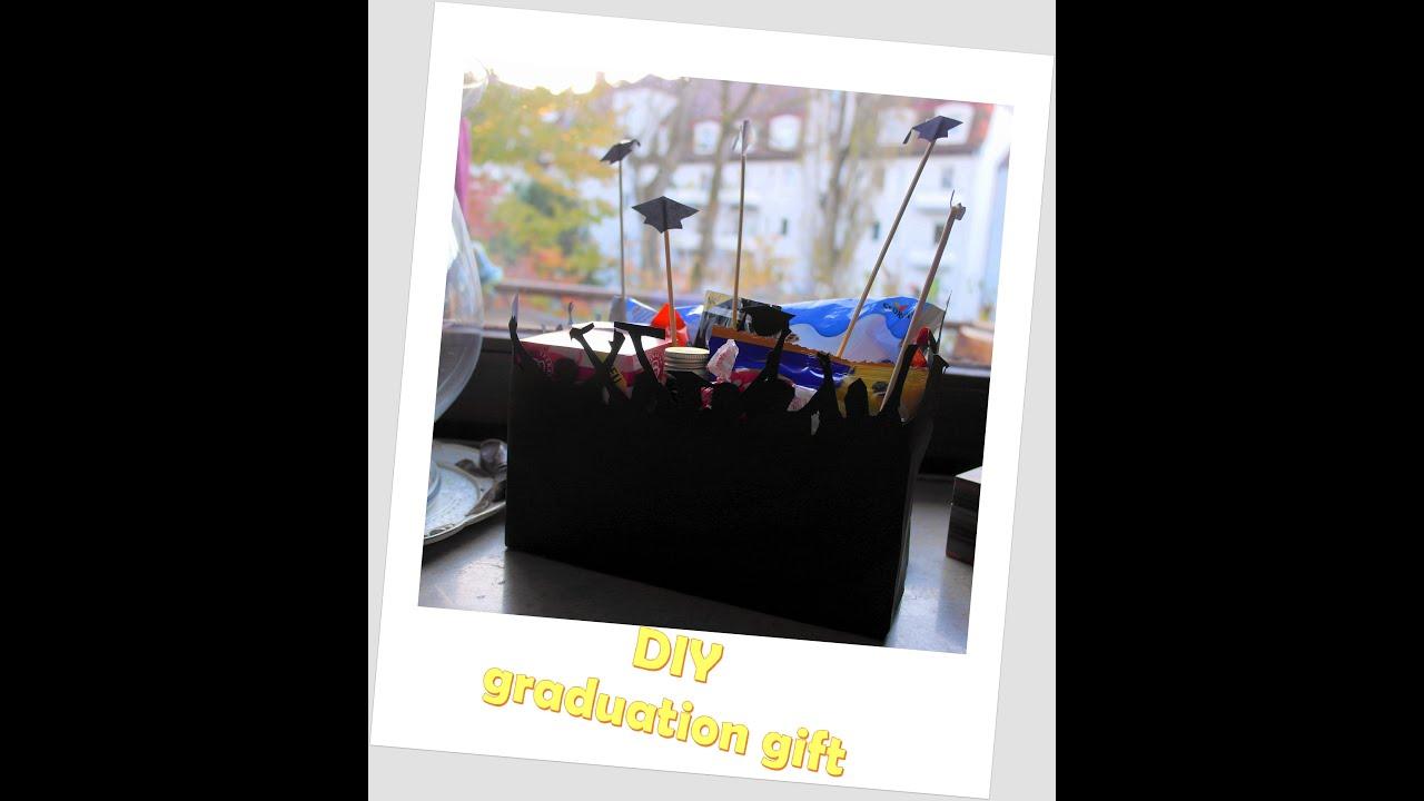 Diy gifts for students diy graduation gift box diy geschenk fr diy gifts for students diy graduation gift box diy geschenk fr studenten youtube negle Choice Image