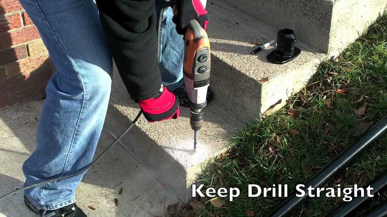 Simple Rail   Surface L160   Handrail Installation   YouTube