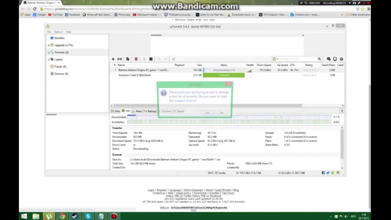 how to download youtube videos through utorrent