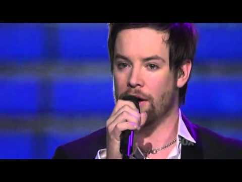 "David Cook - ""Time Of My Life"" American Idol Season 7 [HD]"