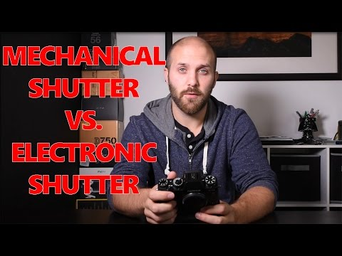 Electronic Shutter vs  Mechanical Shutter in Mirrorless Cameras