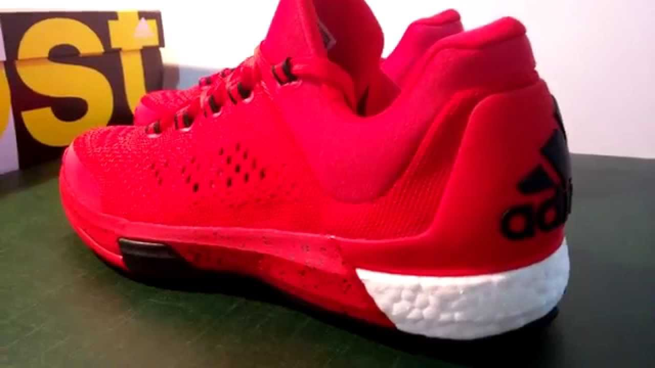 Adidas Crazy Light Boost 2015 (Vivid Red) - YouTube 5ac66d55db97