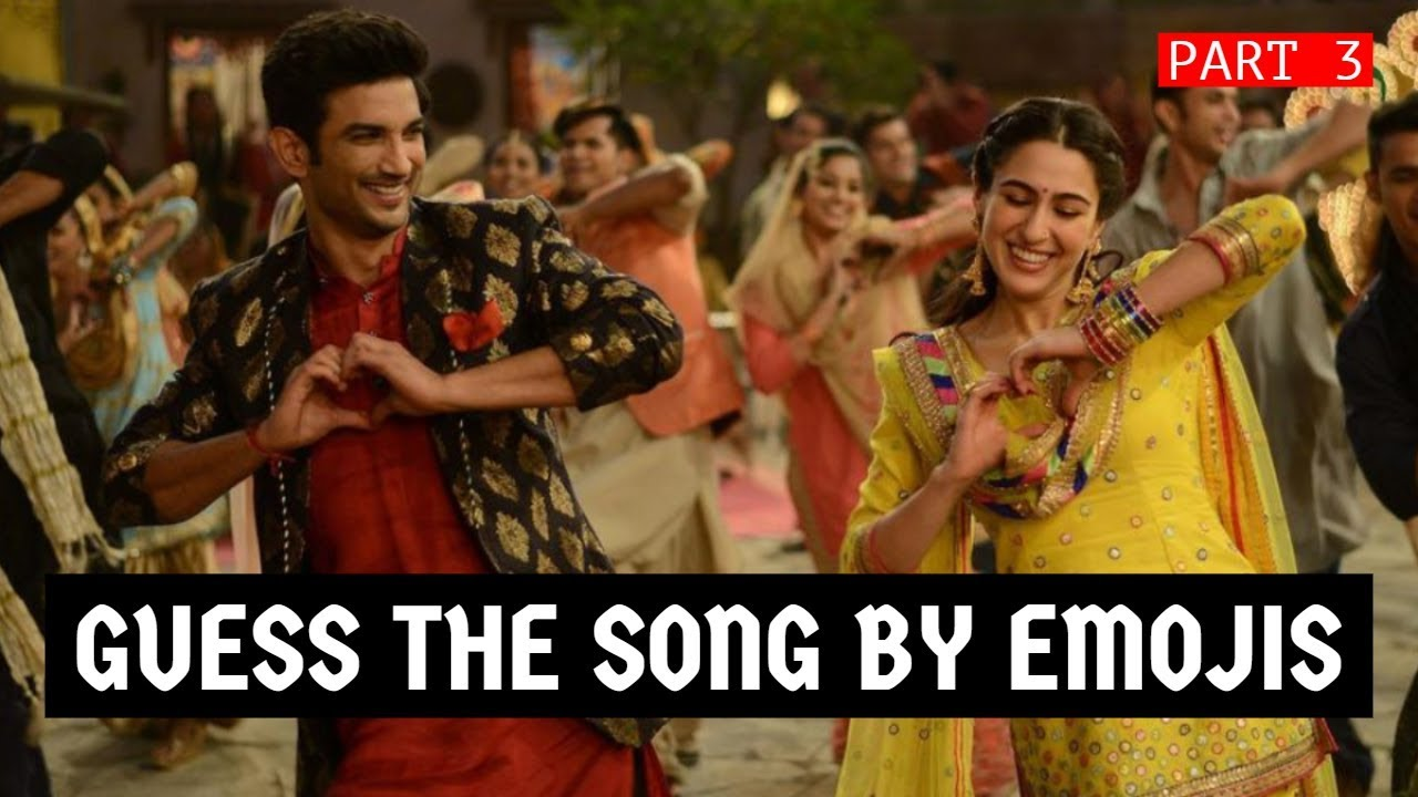 Guess The Song By Emoji Challenge 3 Bollywood Hindi Songs Challenge Video 2019 Youtube Guess new hindi movie song names from emoticons and smileys well, here you can find 50+ quiz and puzzles with answers that you can use on whatsapp. guess the song by emoji challenge 3 bollywood hindi songs challenge video 2019