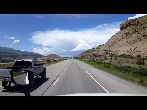 BigRigTravels LIVE! Chaca to De Beque Canyon, Colorado Interstate 70 West-May 19, 2018