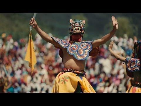 Thimphu Tshechu 2013 Festival in Bhutan