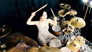 Black Sabbath - Paranoid drum cover by Ami Kim(#110)