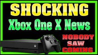 The Shocking Xbox One X Announcement That Nobody Saw Coming! WOW!
