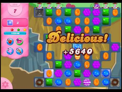 Candy Crush Saga Level 2915 - NO BOOSTERS (FREE2PLAY-VERSION)