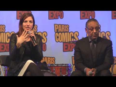 Paris Comics Expo 2016 : Conférence avec Giancarlo Esposito