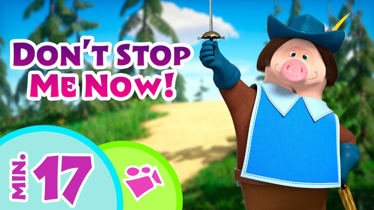 TaDaBoom English 👱♀️💃 Don't Stop Me Now! 🚀👱♀️ Song collection for kids 🎤 Masha and the Bear songs