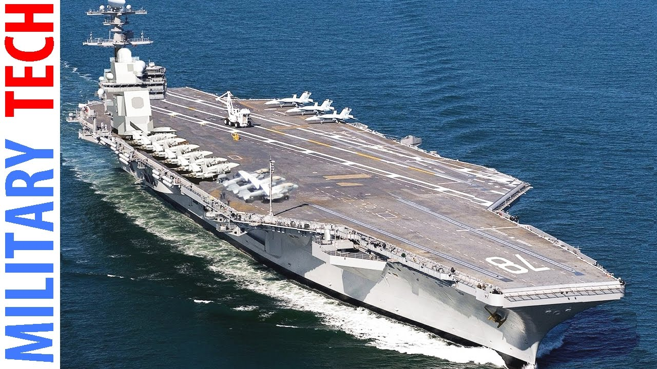 Navy gets its Ford: $12.9 billion aircraft carrier delivered