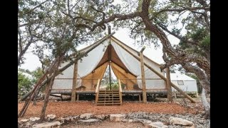 Video: New Hill Country resort to feature luxury tents