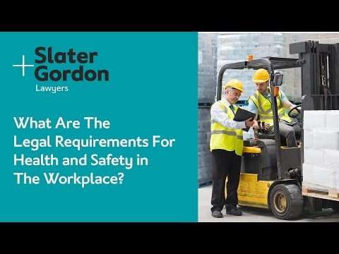 What Are the Legal Requirements For Health and Safety in the Workplace?