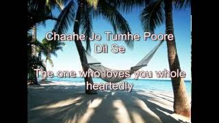 Sharush khan Kal ho na ho lyrics