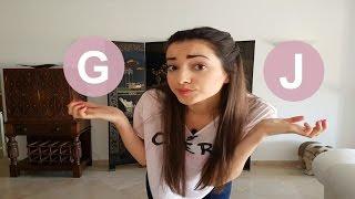 Pronunciación G y J | Spanish pronunciation of G and J