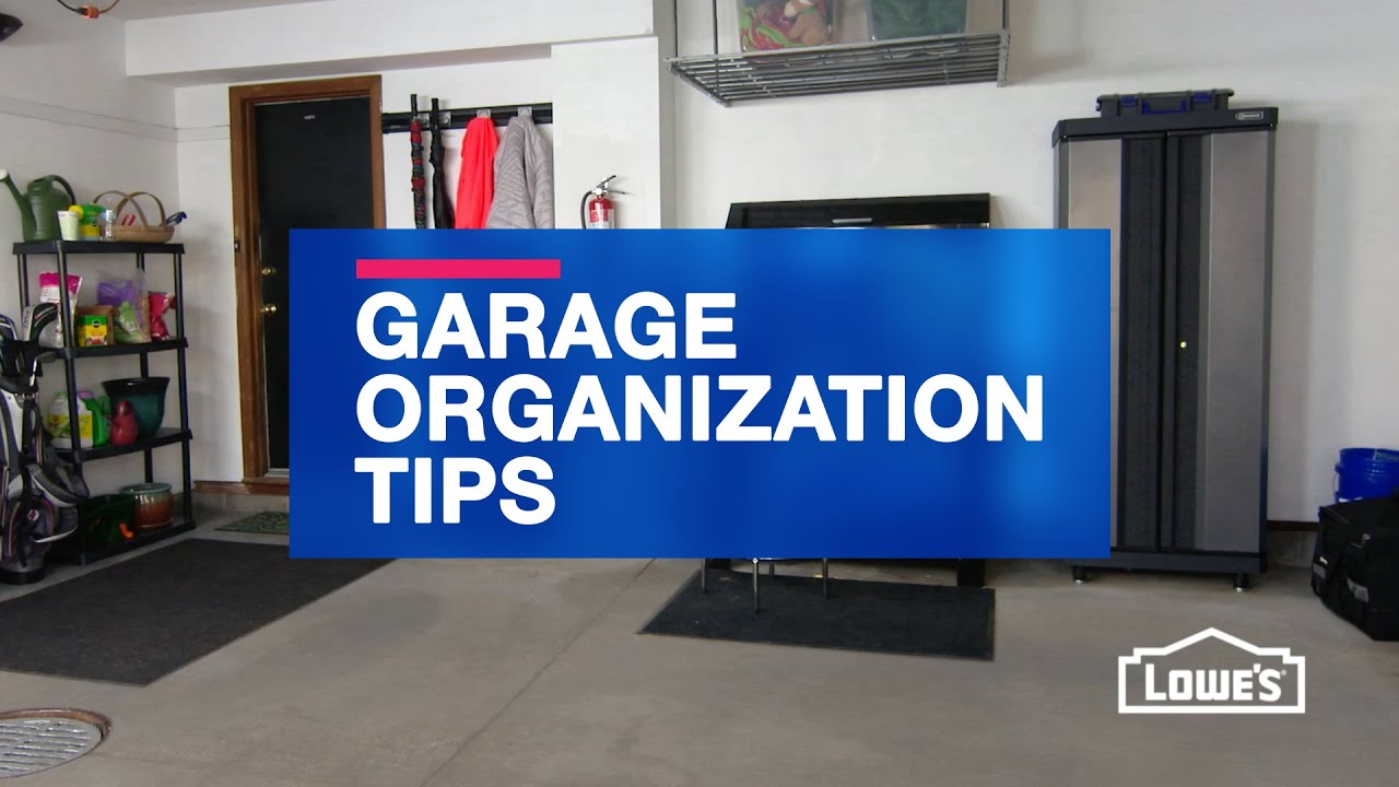 how to organize your garage youtube - Organize Garage