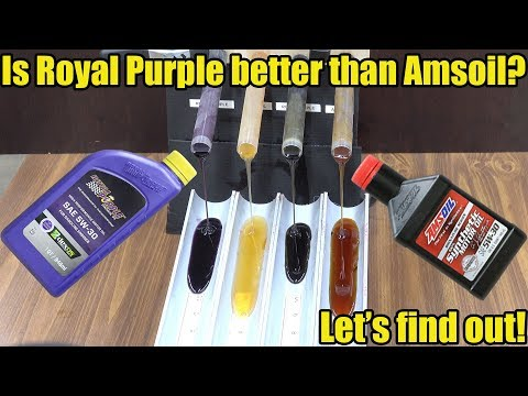 Is Royal Purple better than Amsoil? Let's find out!
