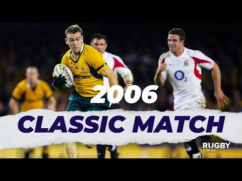 FULL REPLAY | 2006 Cook Cup G2: Wallabies Vs England