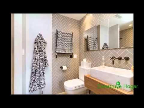 Diseño de cuarto de baño - YouTube