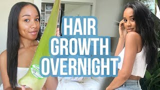 Faster Hair Growth Overnight Treatment