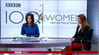 #100women- Samantha Barry BBC World news social media trends.