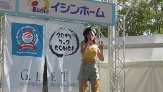 元気いっぱいフエスティバルで大阪娘Mari7がミニライブを披露元気な歌姫...