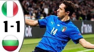Italy vs Bulgaria 1 1 Extеndеd Hіghlіghts All Gоals 2021 HD