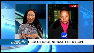 UPDATE: Lesotho army truck, van at Leribe voting station