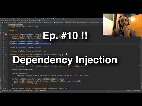 Refactoring an Android App - #10 - Dependency Injection
