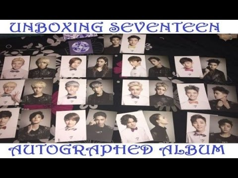 [UNBOXING] SEVENTEEN 1ST MINI ALBUM 17 CARAT