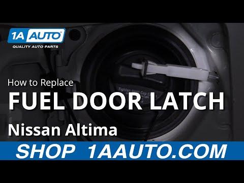 How to Replace Fuel Door Latch 06-12 Nissan Altima