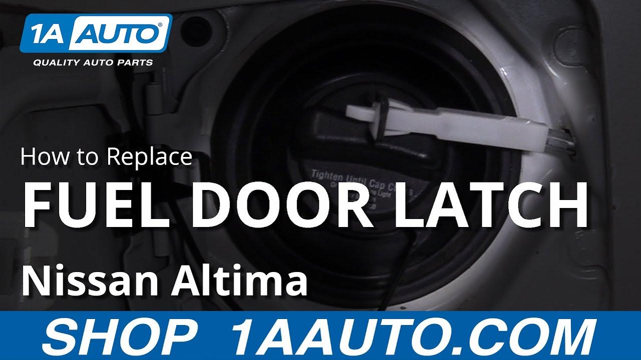 How To Replace Fuel Door Latch 06 12 Nissan Altima