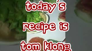 Spicy soup ( tom klong ) ( thai vegan )
