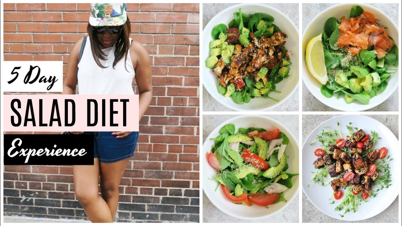 I TRIED EATING SALADS FOR A WEEK! And this happened ...