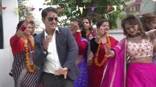 मोडल सारिका केसीको  पन्चे बाजामा बबाल नृत्य ll Super dance in panchebaja song Sabin & sarika
