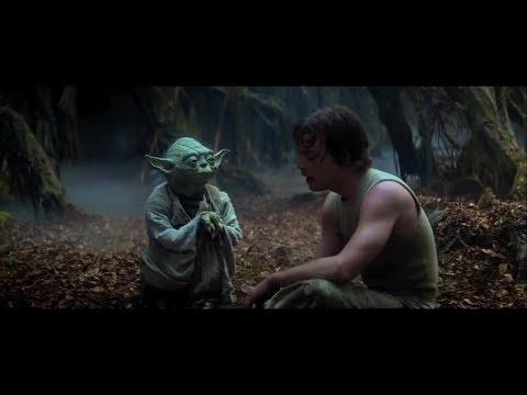 Empire Strikes Back Yoda Training Luke Part 3